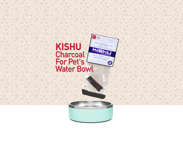 Kishu Charcoal for Pet Water Bowls