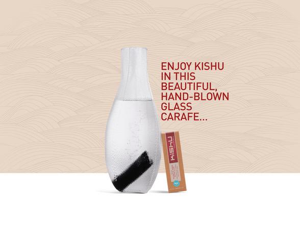 Tela Carafe + Kishu Charcoal Regular